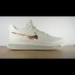 Nike Women's Lunarepic Low Flyknit 2 X-plore White